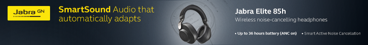 Jabra Elite 85h 728x90 A IFA 2019: Philips Wireless ANC Headphones Take On Sony, Bose