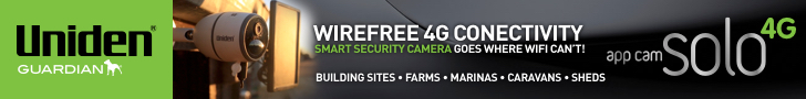 Uniden 4G 728x90 Swann Releases Indoor/Outdoor Cameras & Eco System For Home & B2B Security