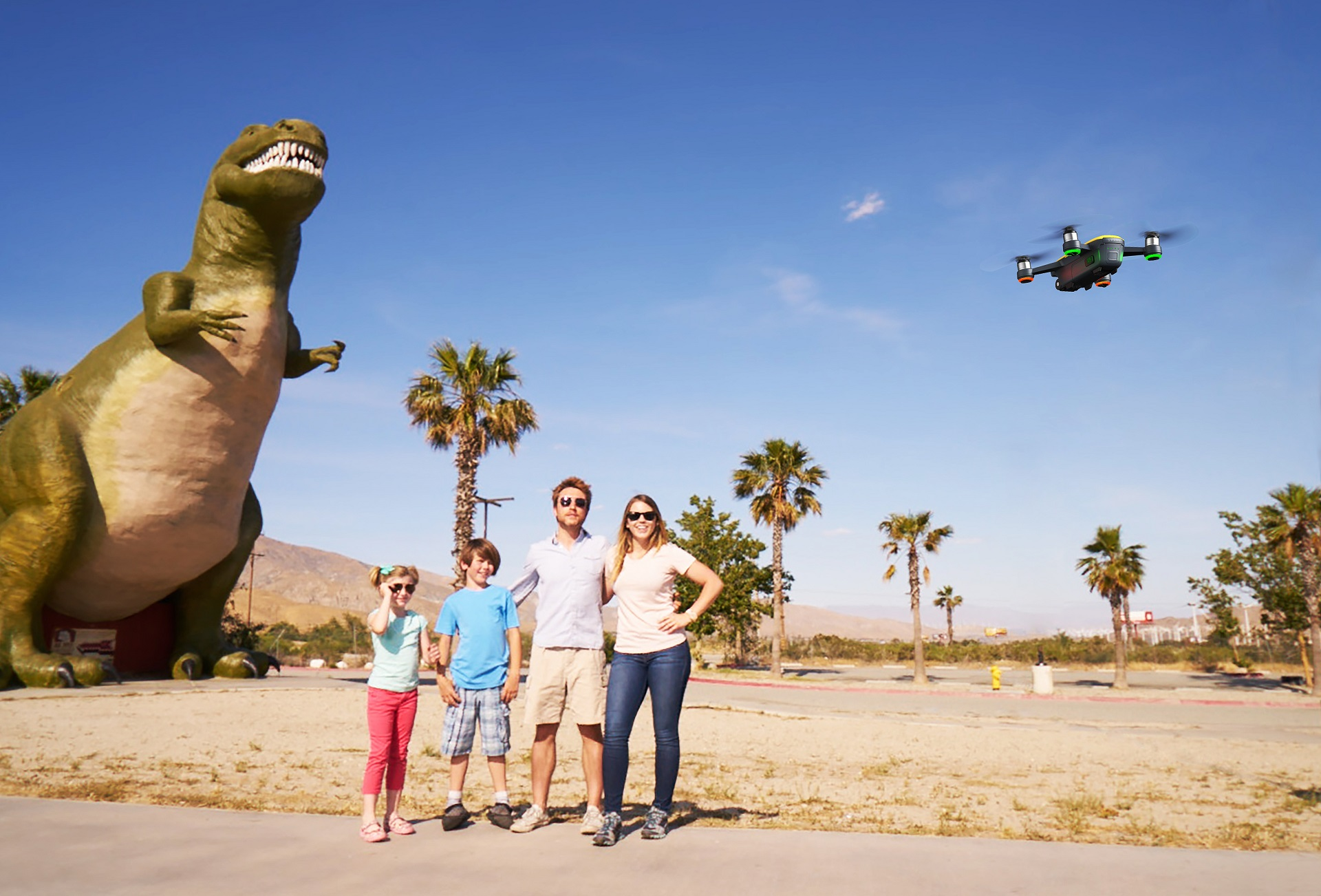 DJI Spark Photo DJI Launches Smaller, More Affordable Drone