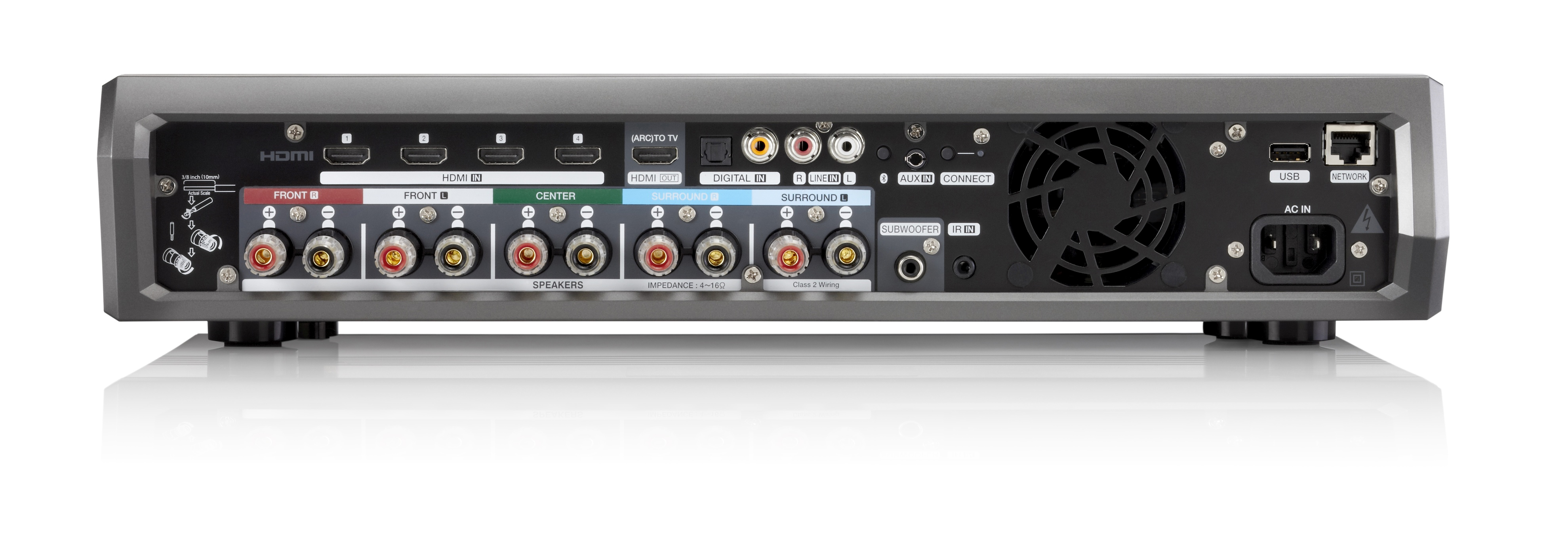Denon HEOS AVR Product New Denon HEOS Wireless 4K Receiver A Massive Step In New Direction