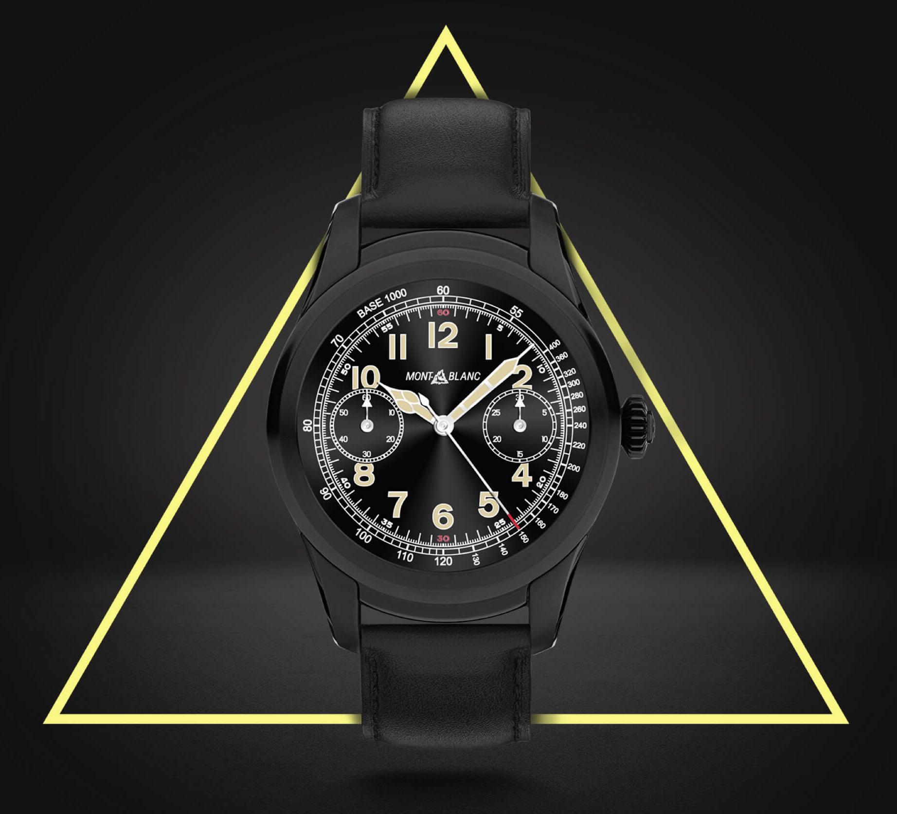 Montblanc Summit Product Montblanc Enters Luxury Smartwatch Market