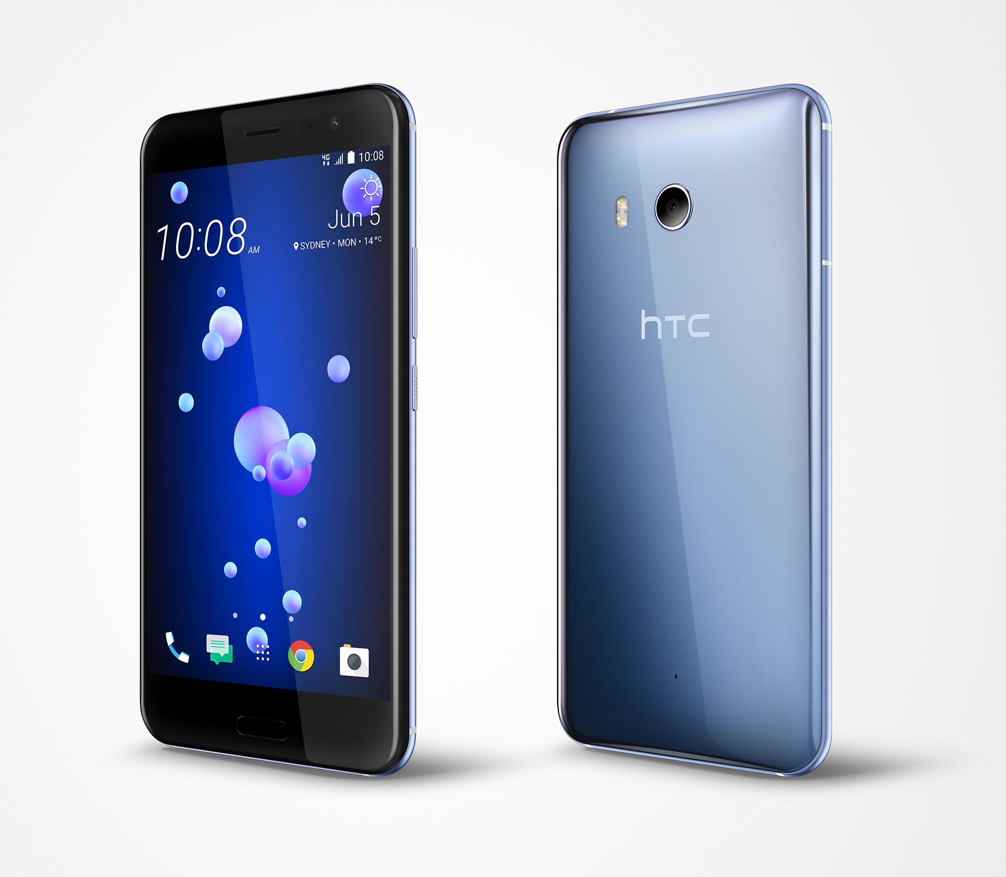 Ocean PerLeft AmazingSilver HTC Announces U11 Release Date
