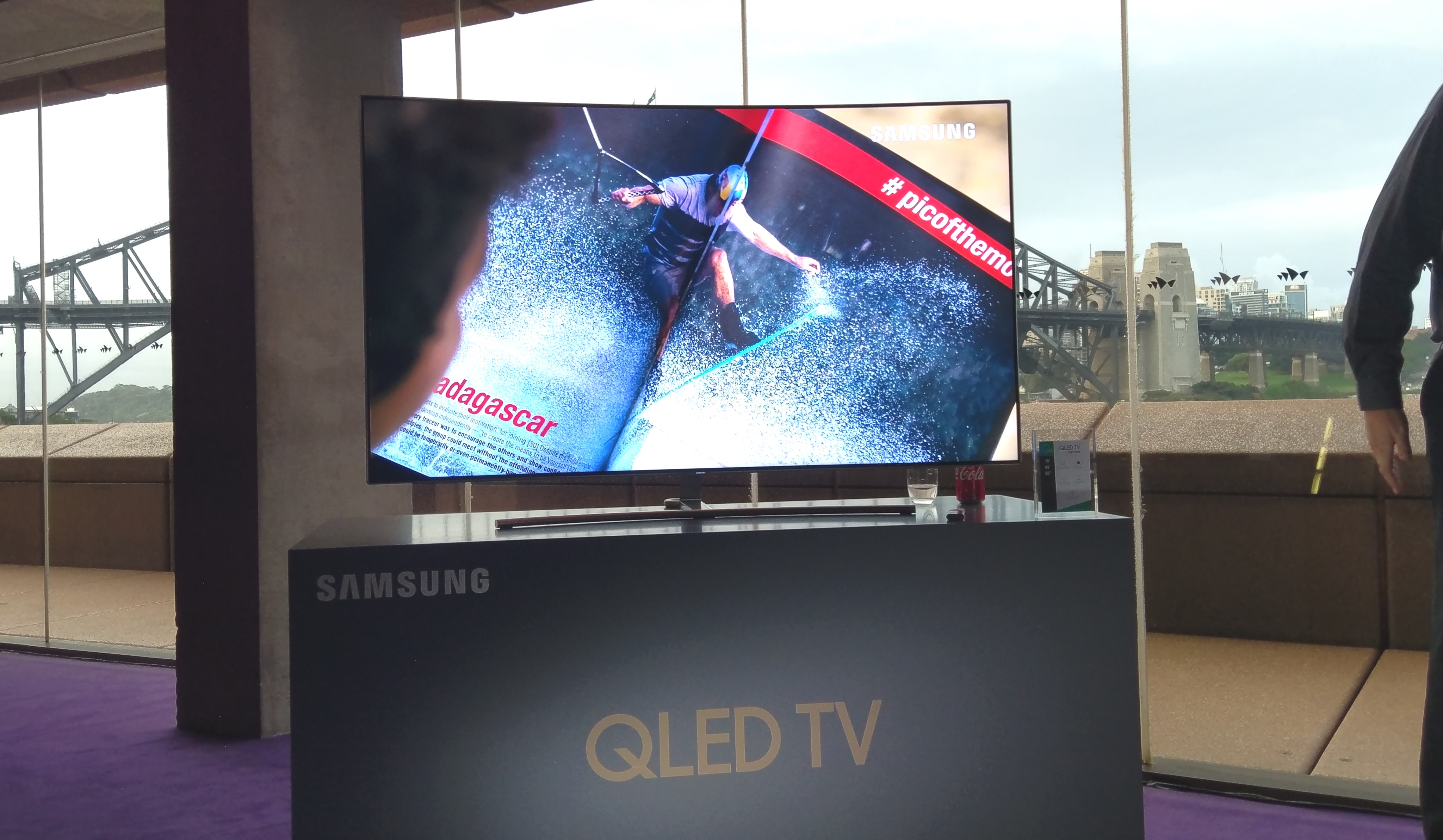Samsung QLED Opera House Samsung Show Off QLED At Launch Event