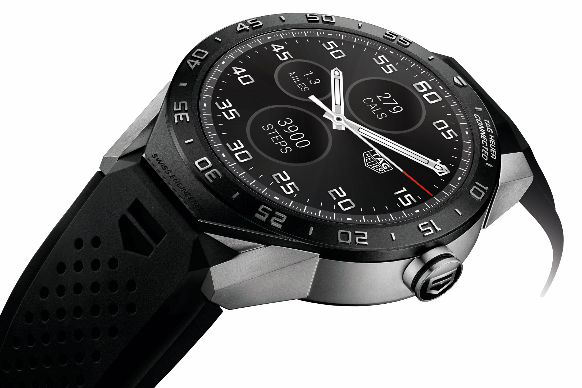 Tag Heuer Smartwatch product Tag Heuer Rolls Out Top End Reversable Smart Watch