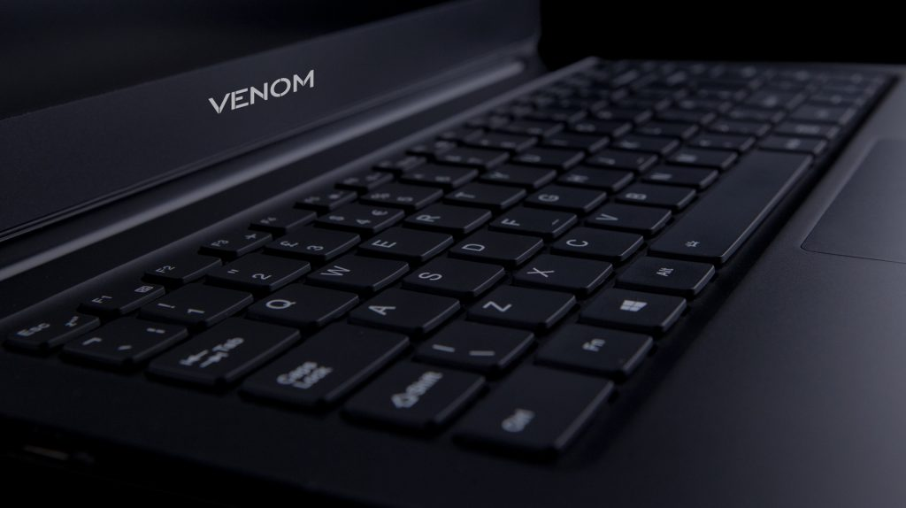 keyboard 1024x574 Review: Venoms BlackBook Zero Is A Solid Product With A Weighty Price
