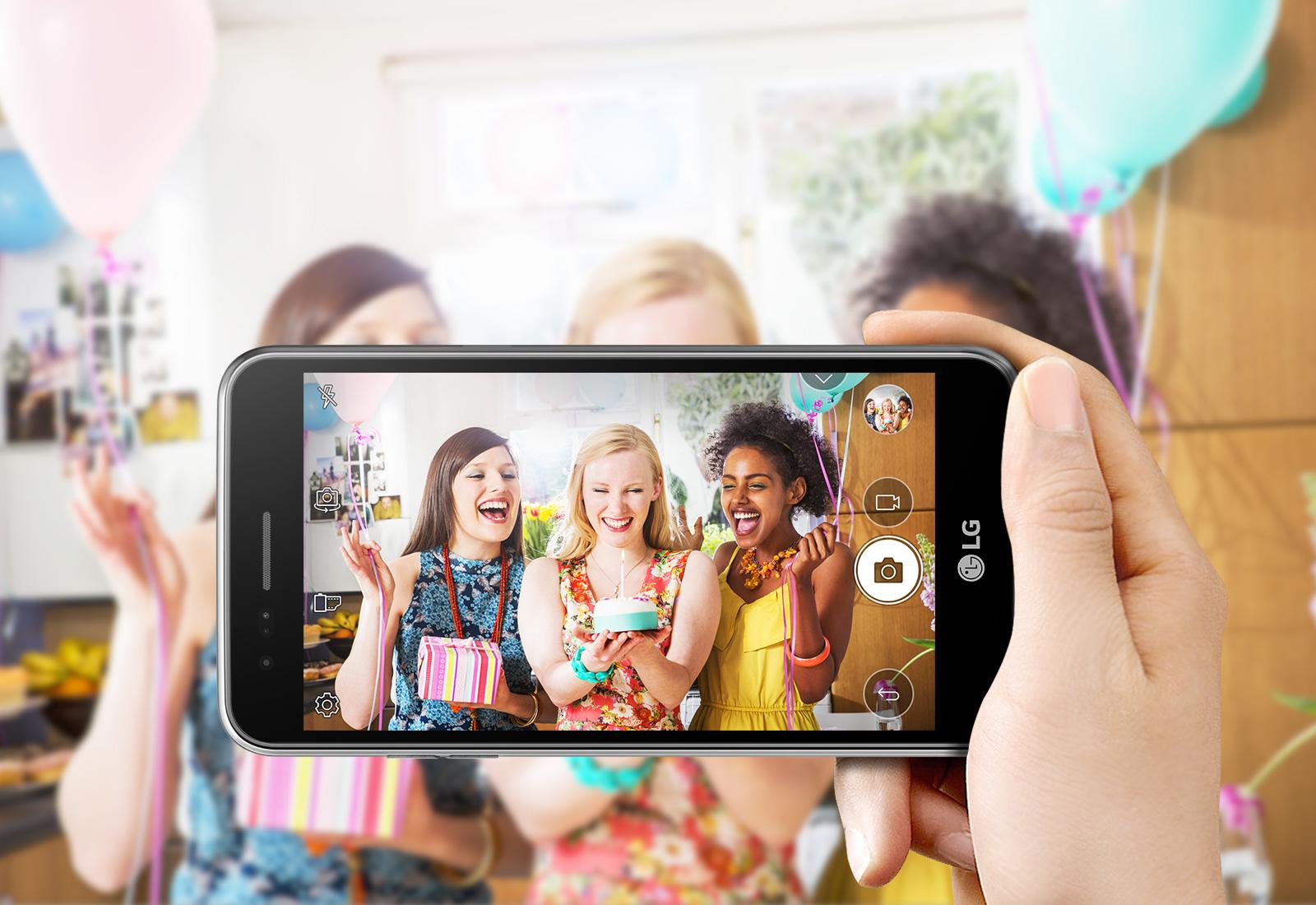 8mp rear camera 1600x1100 K4 M01A LG Launches Budget K4 Smartphone