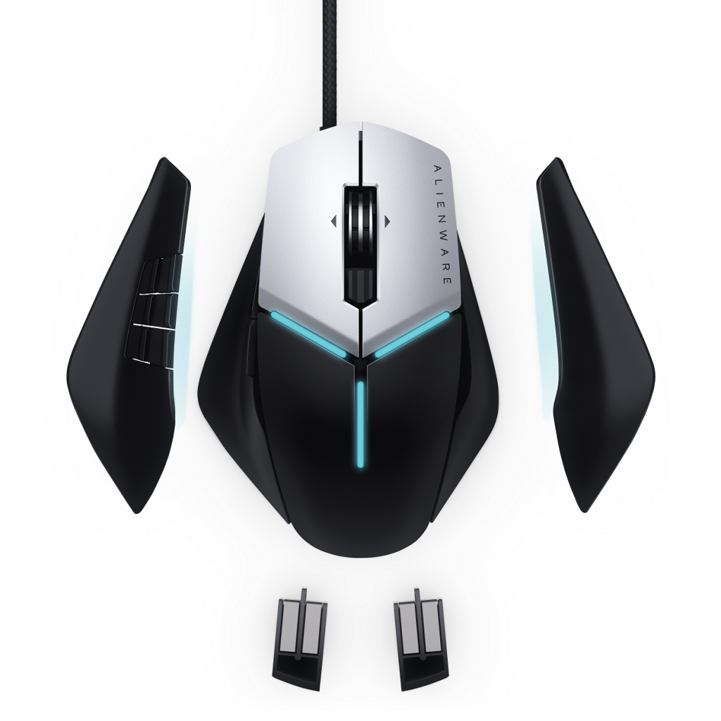 Alienware Elite Gaming Mouse AW958 4 1024x1024 Alienware Unveil New Flagship Gaming PC + More