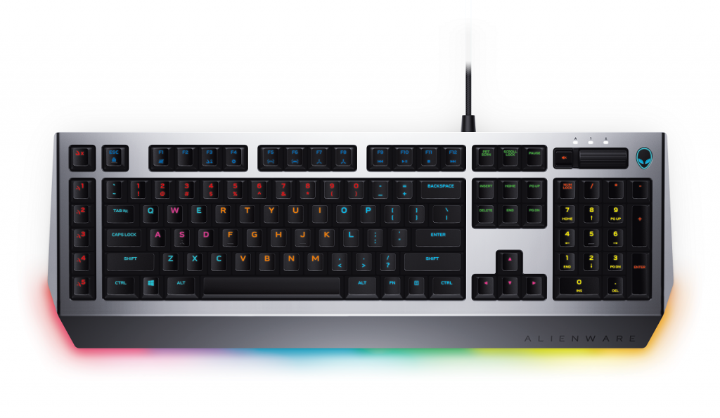 Alienware Pro Gaming Keyboard 4 1024x595 Alienware Unveil New Flagship Gaming PC + More