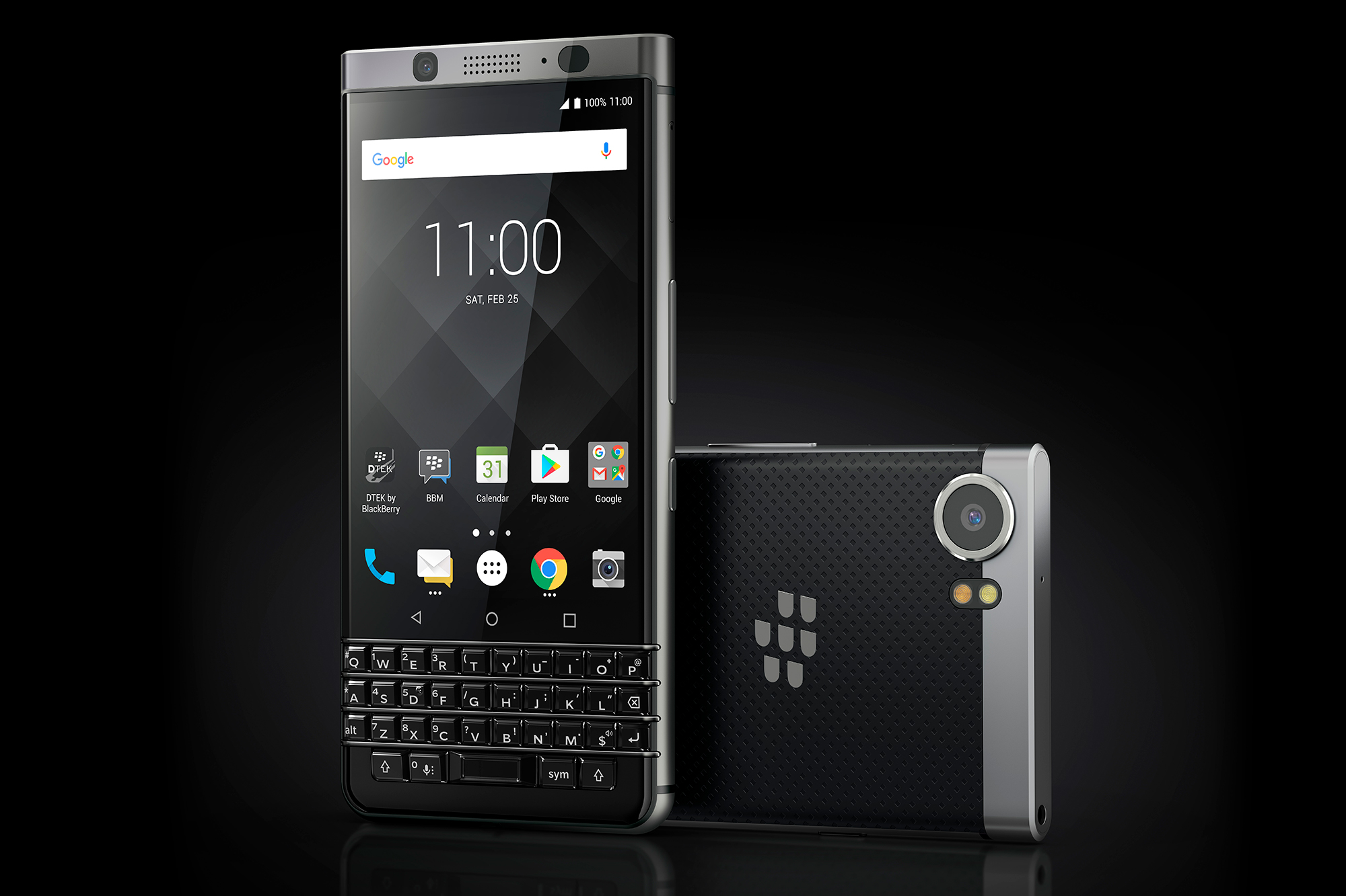 BlackBerry KEYone with camera BlackBerry KEYone Launches Next Month For $899