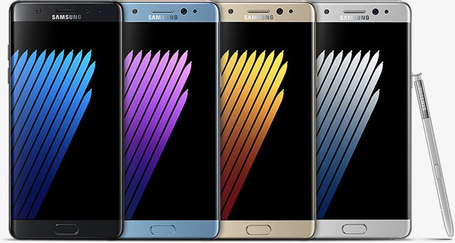 Galaxy Note 7 Lineup If You See A Samsung Note 7 On Sale, Don't Panic It Could Be A Good Investment