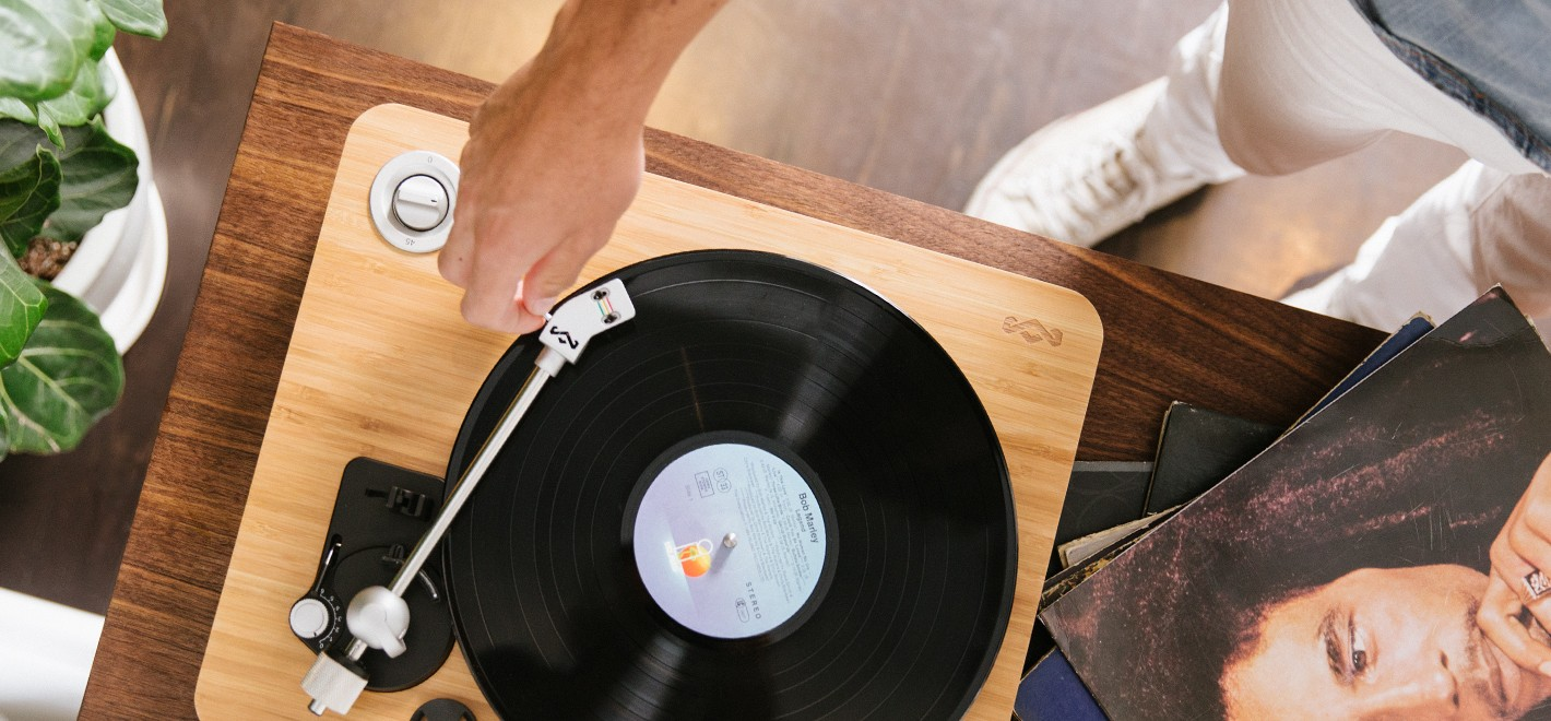 House Of Marley Turntable 3 House Of Marley Turntable Puts A New Spin On Sustainability