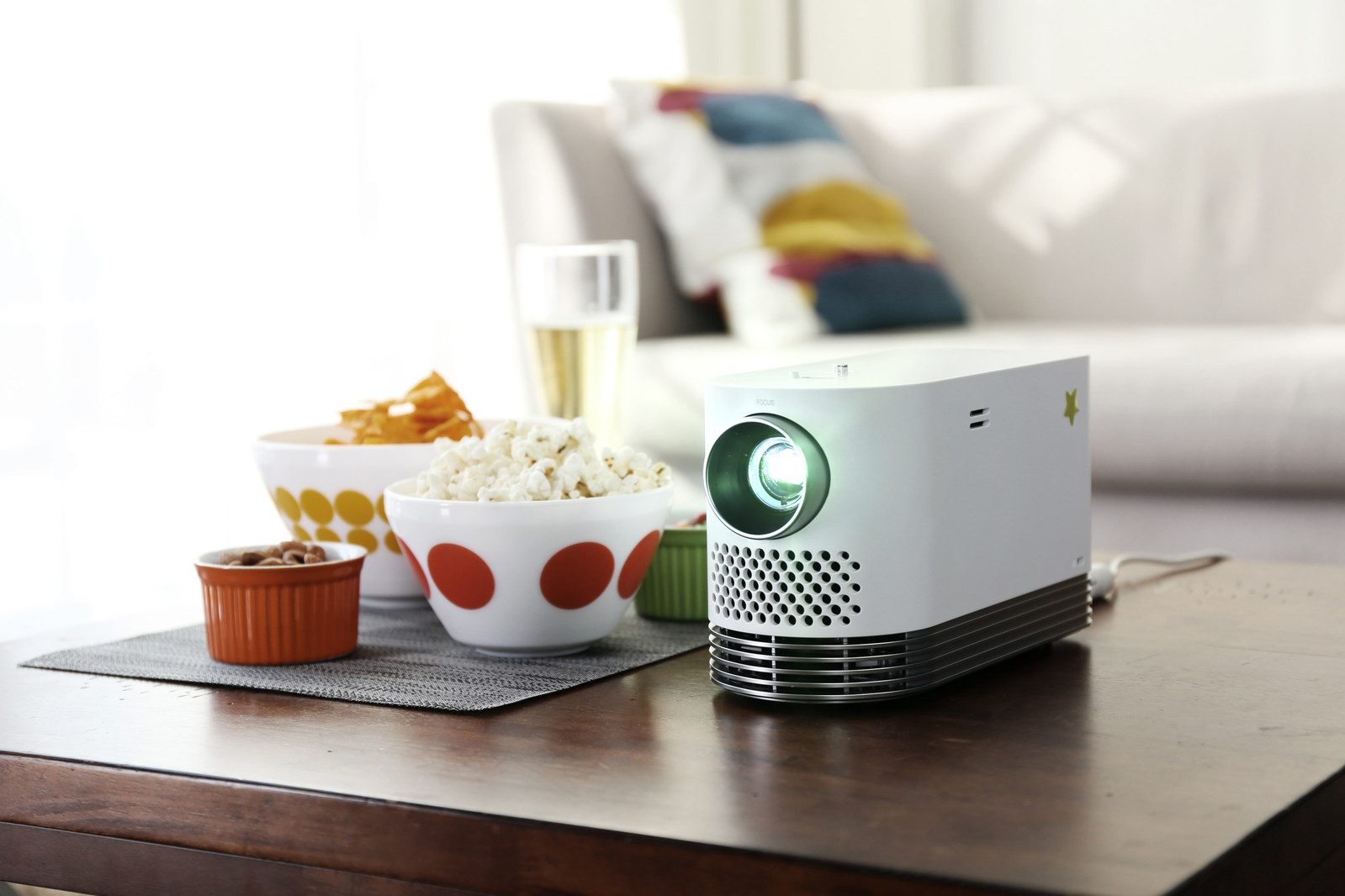 LG ProBeam Projector LG Releases Bright & Affordable Laser Projector