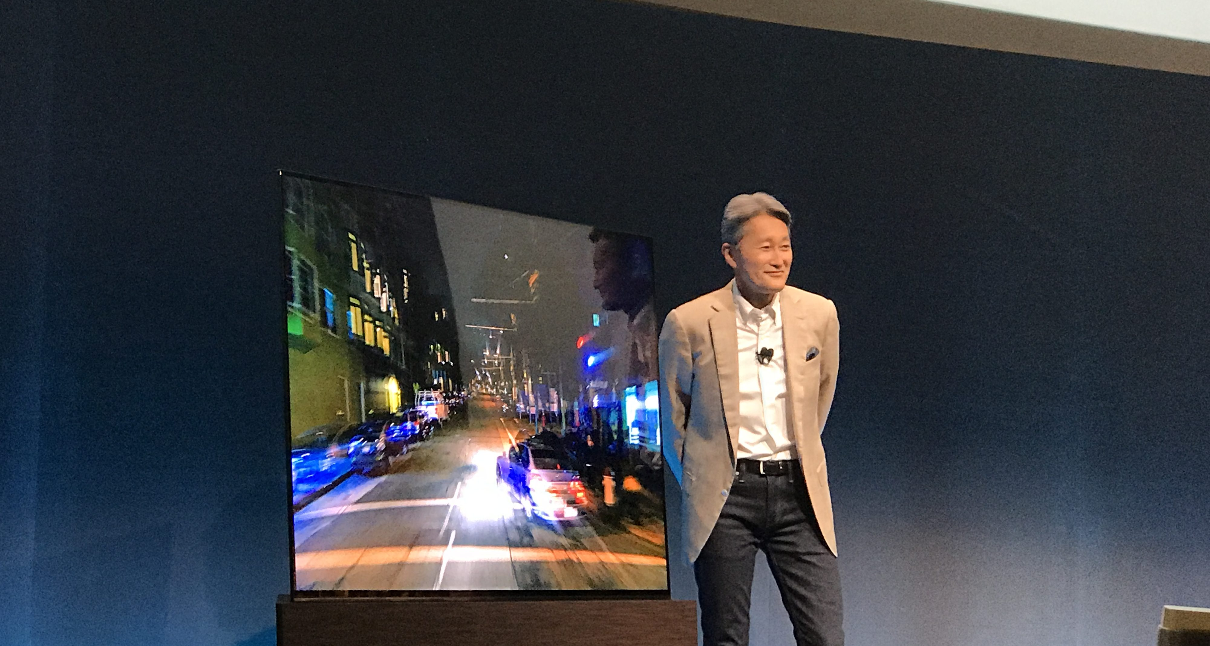 Sony OLED Presentation New Sony Designed, But Not Made By, 4K TV's, Seriously Overpriced When Compared To LG & Samsung