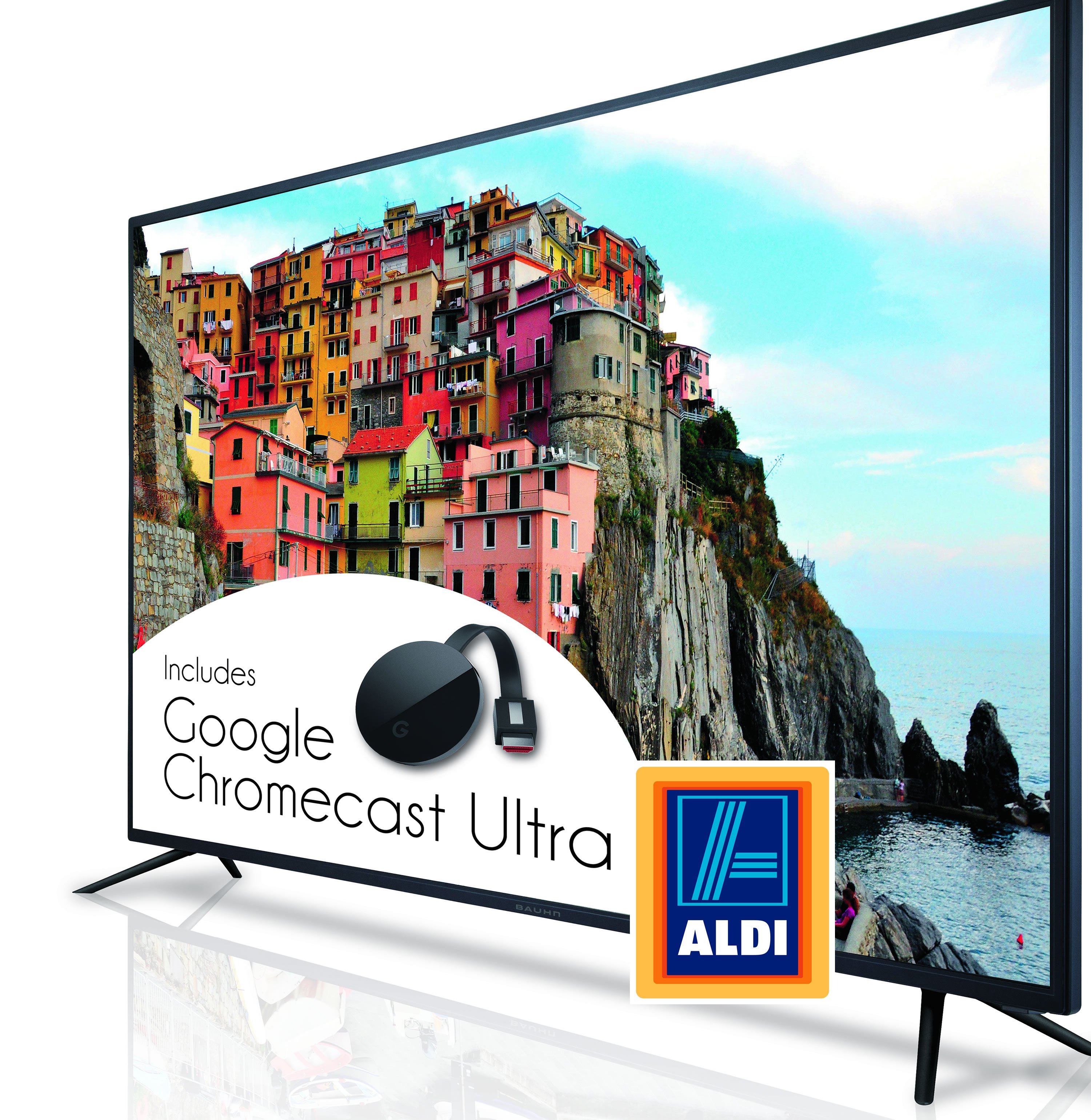 Aldi Bauhn Chromecast TV Hisense Lift TV Prices By Up To 100% As They Struggle To Make A Profit