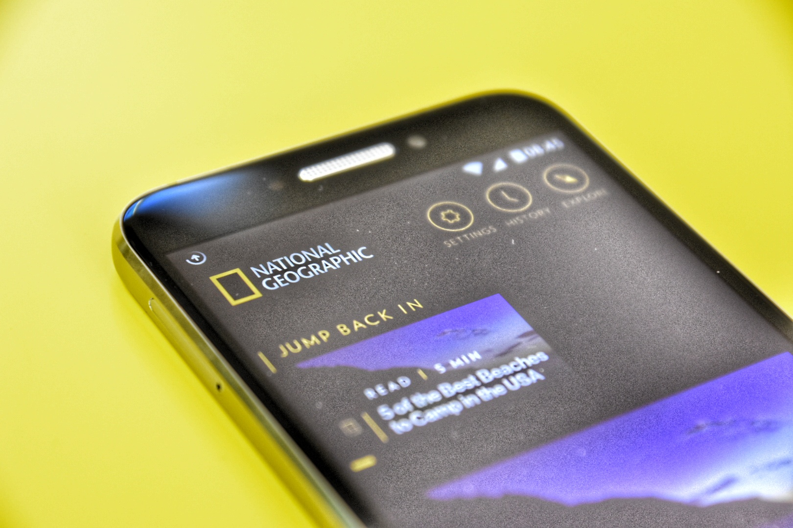National Geographic Optus App