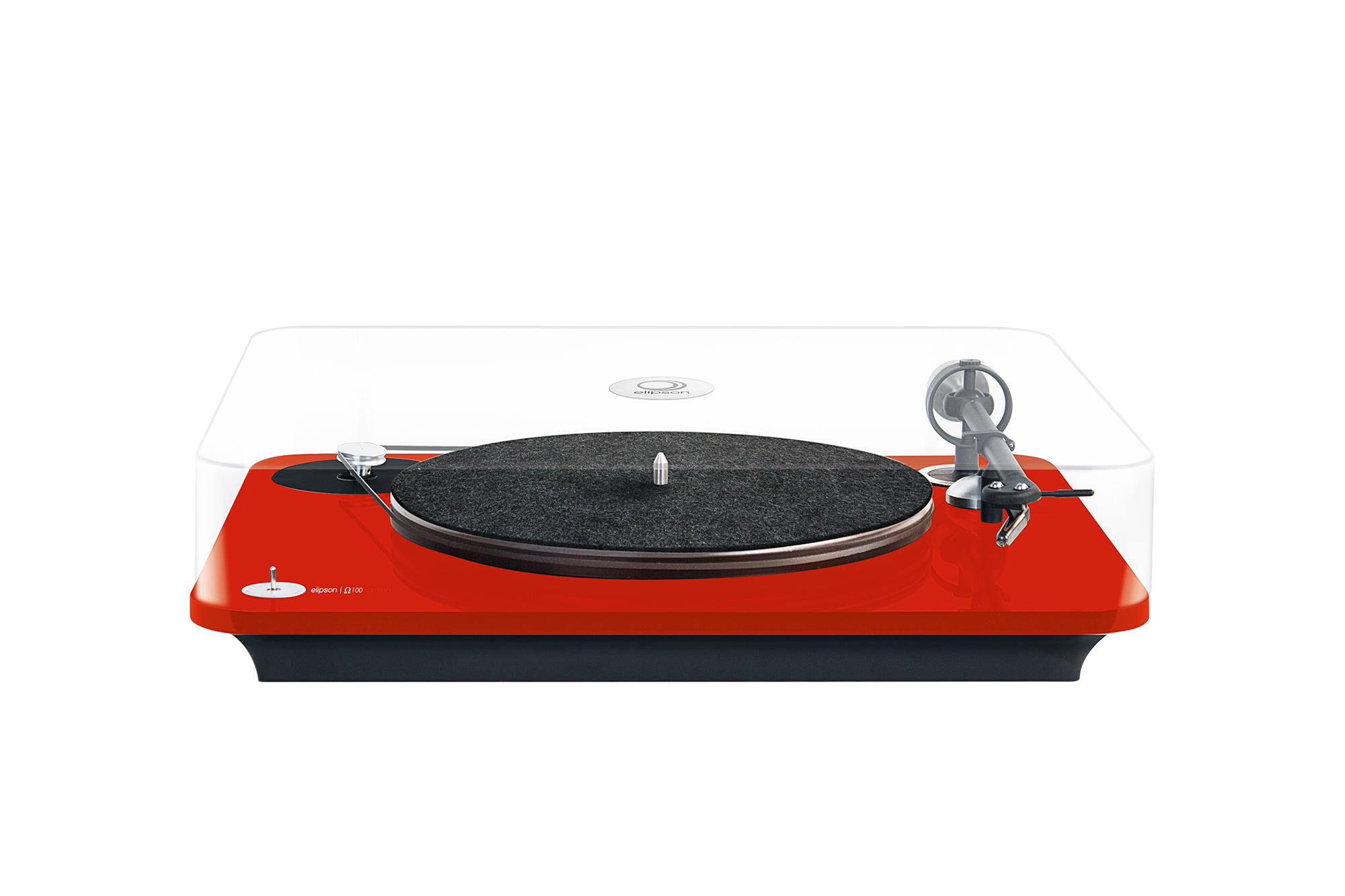 ELI omega SO 1 RD Elipson Turntables Combine Quality Sound With Flair
