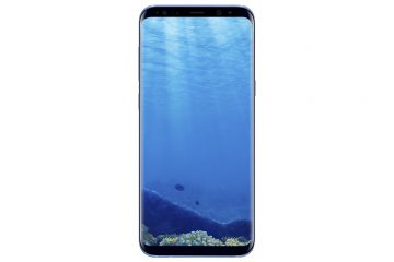 Samsung Galaxy S8 Coral Blue Front