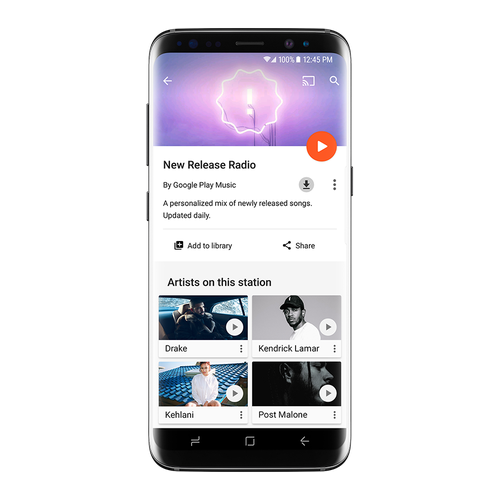 Google Play Music New Release Radio 1 Google Play Music Delivers Personalised New Release Songs