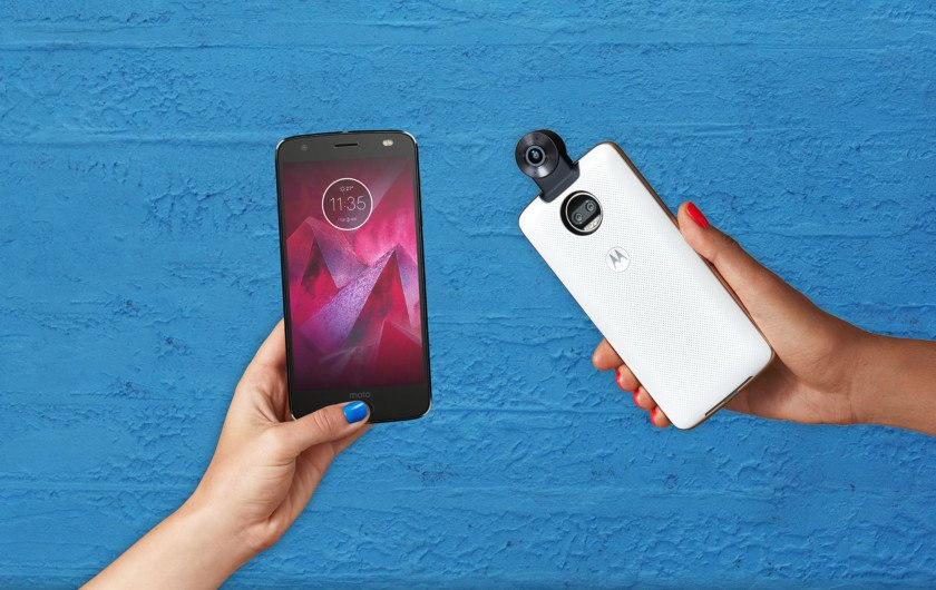 Moto Z2 Force Edition Moto Takes On Premium Smartphones With Z2 Force Edition