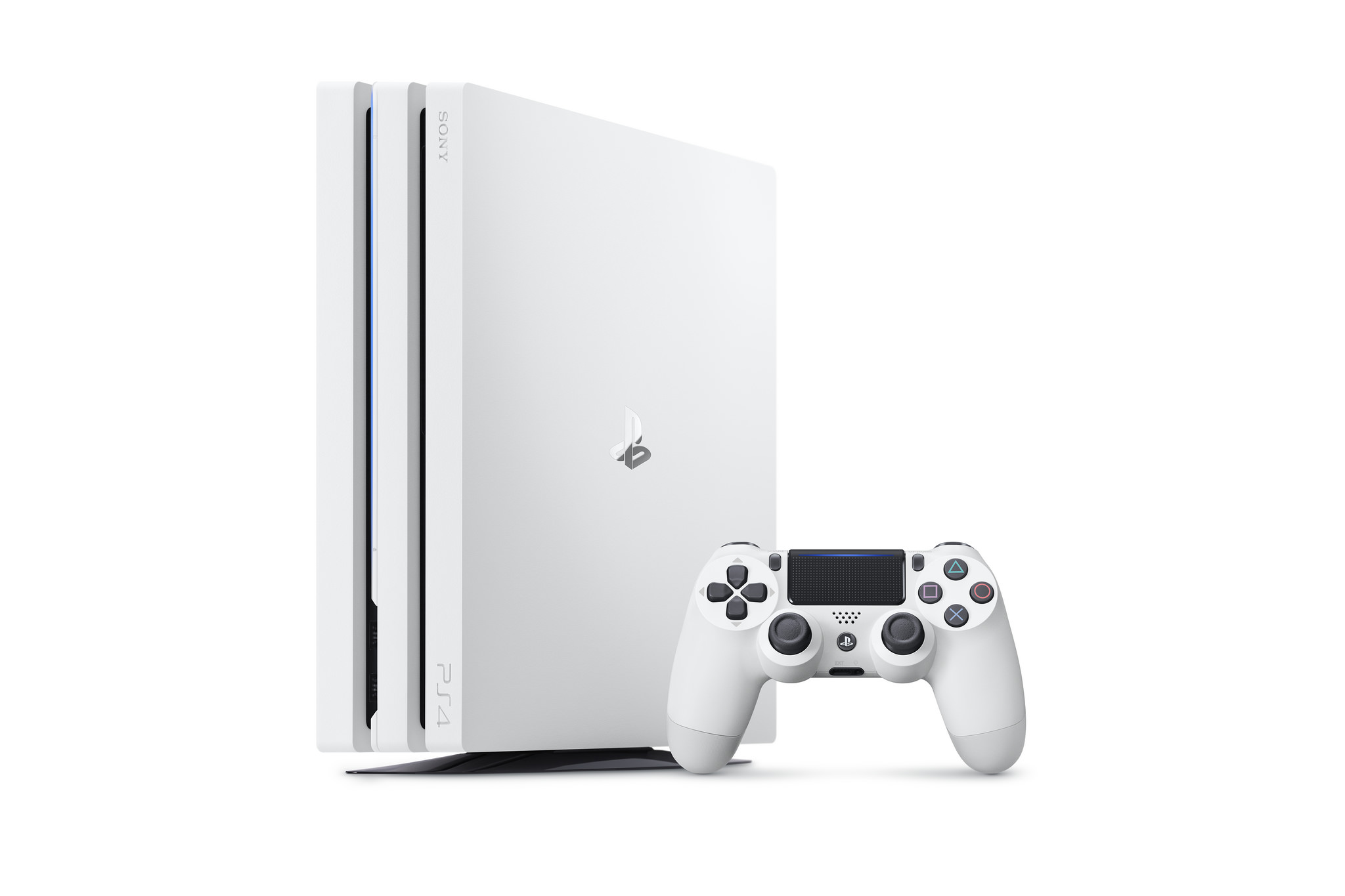 PlayStation 4 White Console White PS4 Pro Incoming