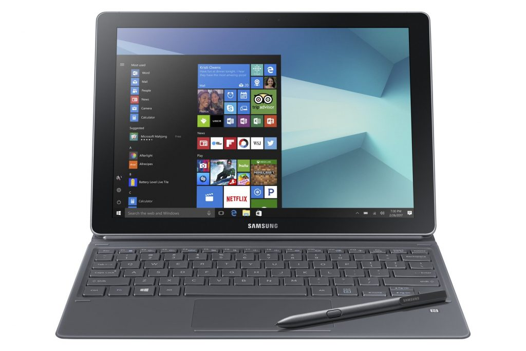 SM W720 001 Front1 Silver 67711483 1024x683 Samsung To Bring New Tab S3 + Galaxy Book To Oz