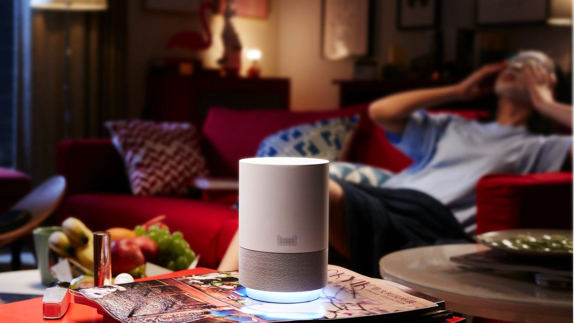 Tmall Genie White Alibaba Takes On Amazon With Smart Speaker