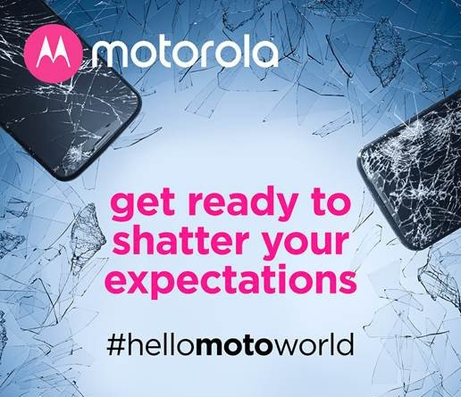 hello moto world invite 2 Motorola Tees Up Shatterproof Reveal