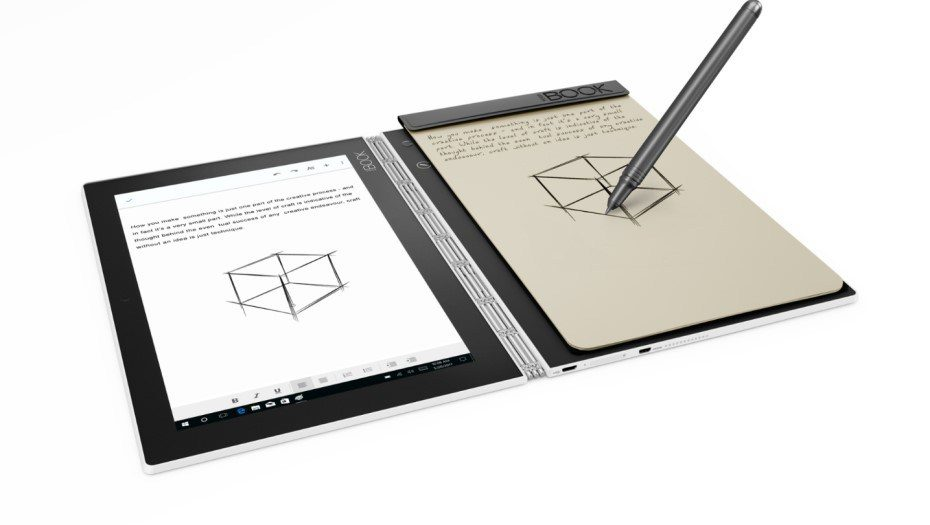 Lenovo Yogabook White Drawing