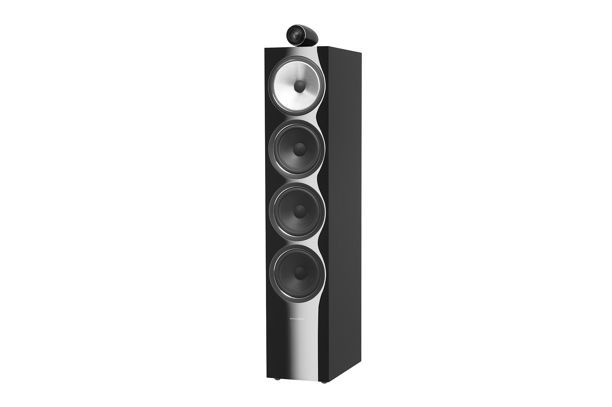 702 S2 Gloss Black Grille Off Latest Bowers & Wilkins Speakers Combine New Technology With Classic Design