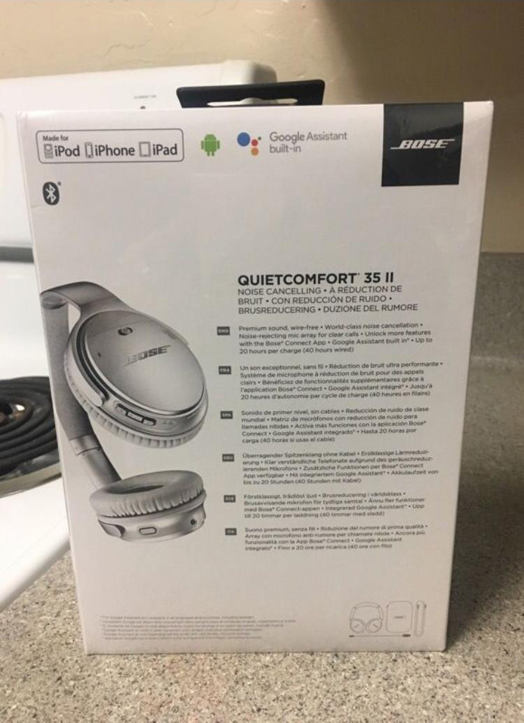 Bose QC35 II Bose Adds Google Assistant To New Headphones