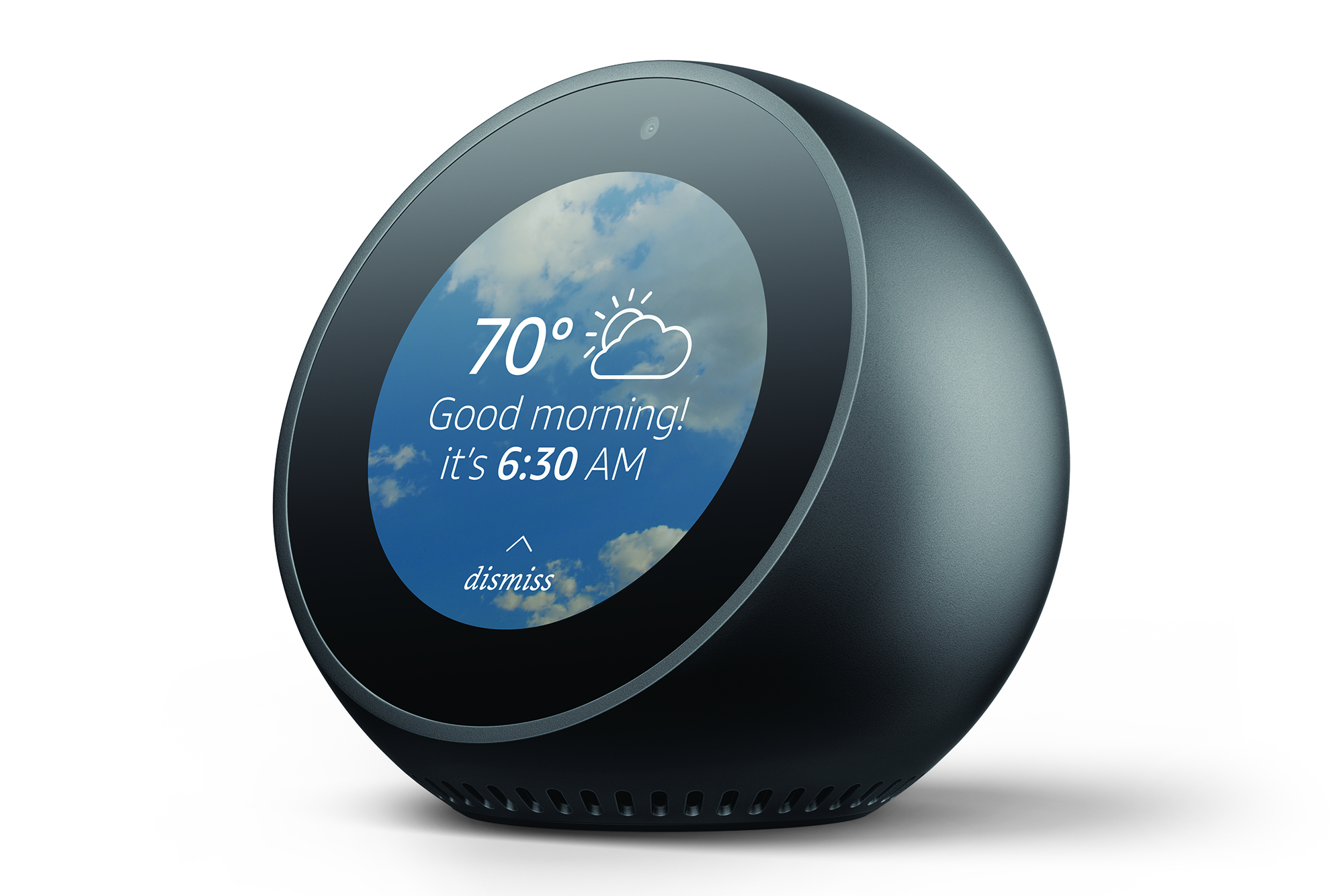 Echo Spot IMAGE Amazon Refreshes Echo Smart Speaker Lineup