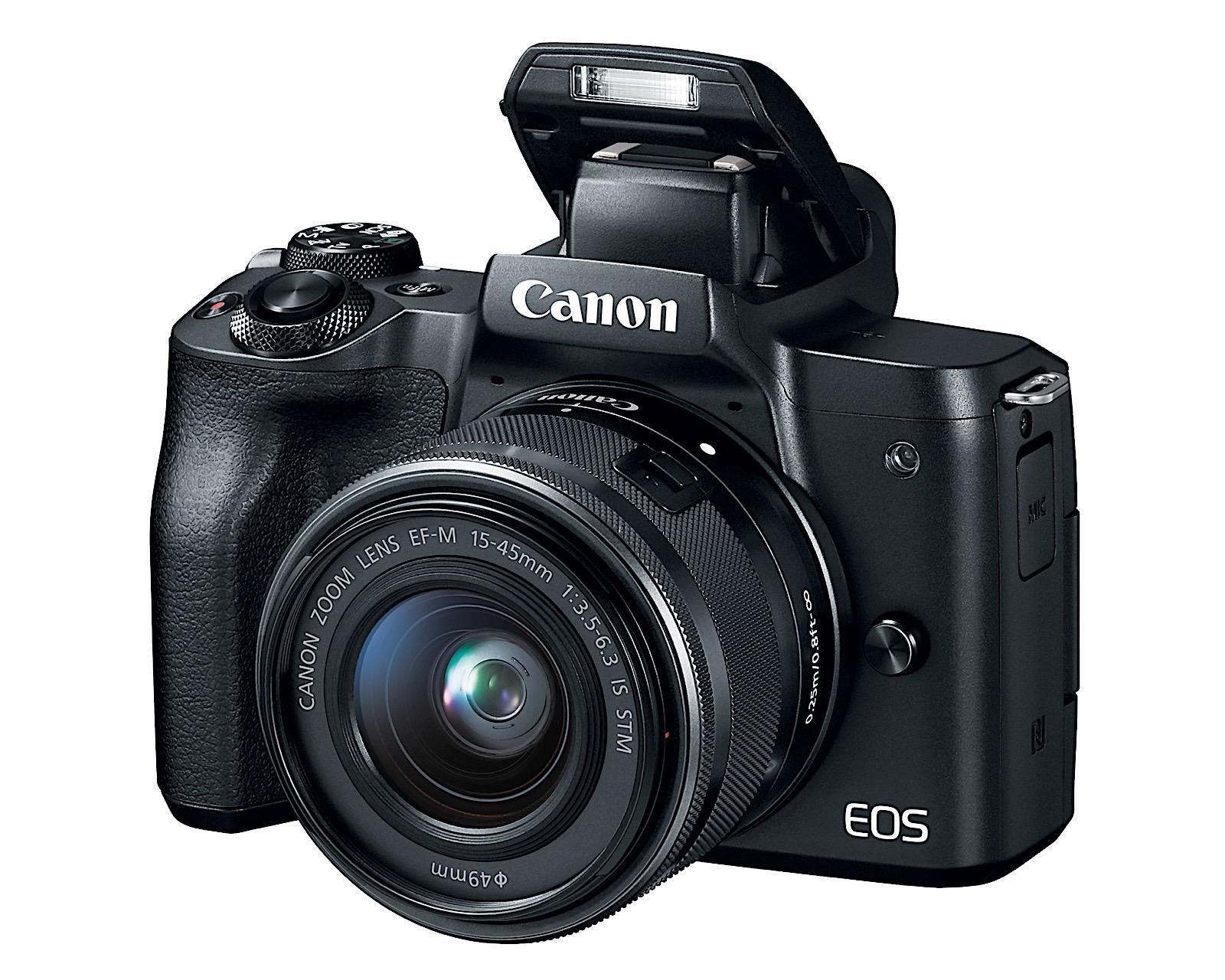 Kết quả hình ảnh cho Canon EOS M5 vs M50 –
