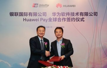 UnionPay HuaweiPay Roll Out Worldwide 360x229 Huawei Introduces Huawei Pay Globally