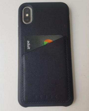 mujjo case 2 360x446 REVIEW: Mujjos iPhone X  Leather Wallet Case Is Perfect For The Suited Man