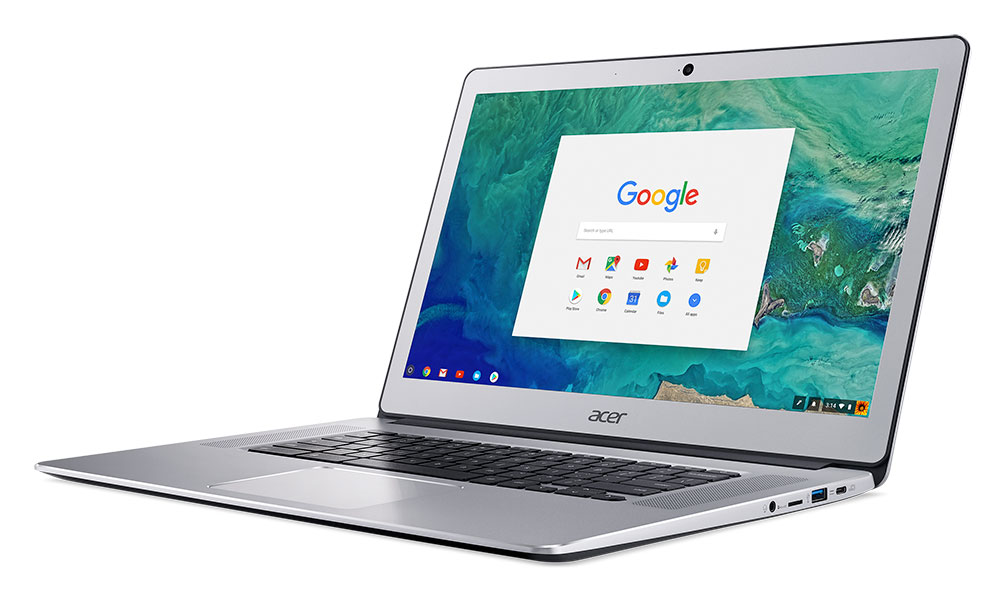 Acer Chromebook 15 front Google Working On First 4K Chromebrook