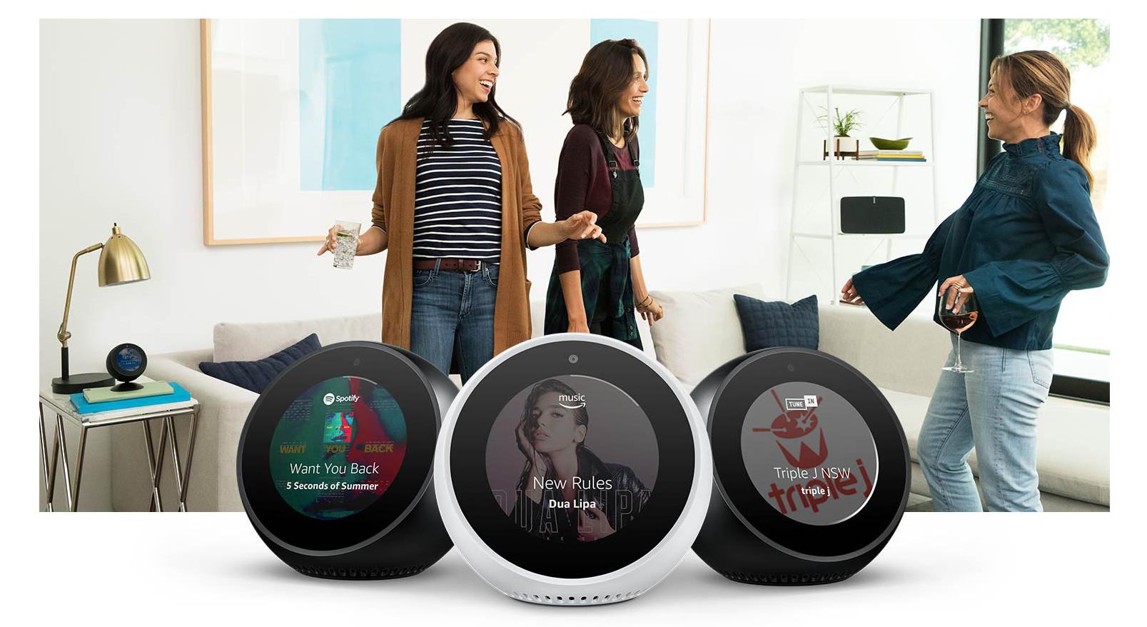 Amazon Echo Spot 3 Amazon Echo Spot Lands In Australia