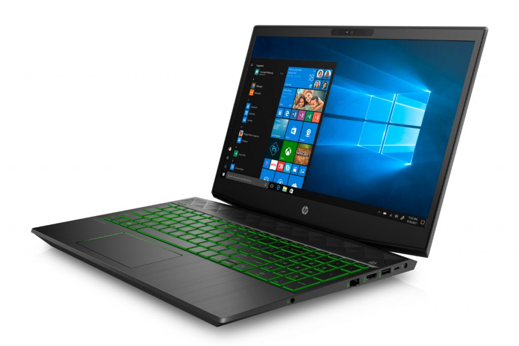 HP Pavilion Gaming Laptop FrontLeft ShadowBlack AcidGreen 1024x683 HP Unveils Affordable Pavilion Gaming Line