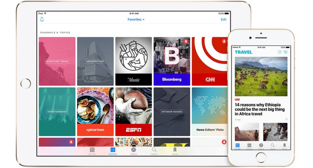 apple news 1024x552 Apple To Launch Paid News Subscription Service