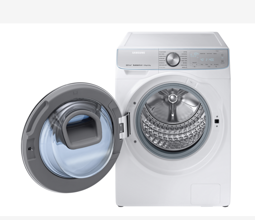 Samsung Quick Drive 2 New Samsung Laundry Combo Cuts Serious Time Off A Laundry Run