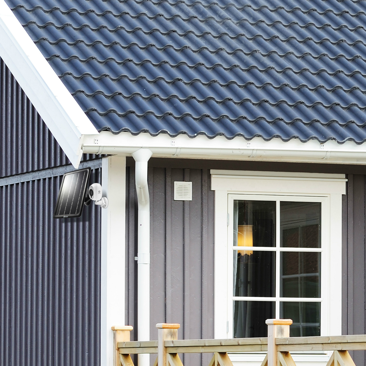 Swann Releases Solar Panel For Security Cameras - SmartHouse