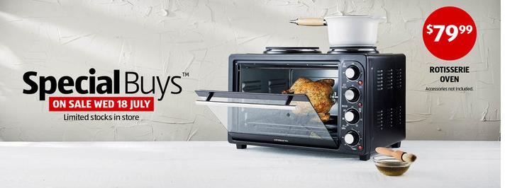 ALDI Rot Oven 1 Aldi Unveils Dual Plate Rotisserie Oven For $79.99