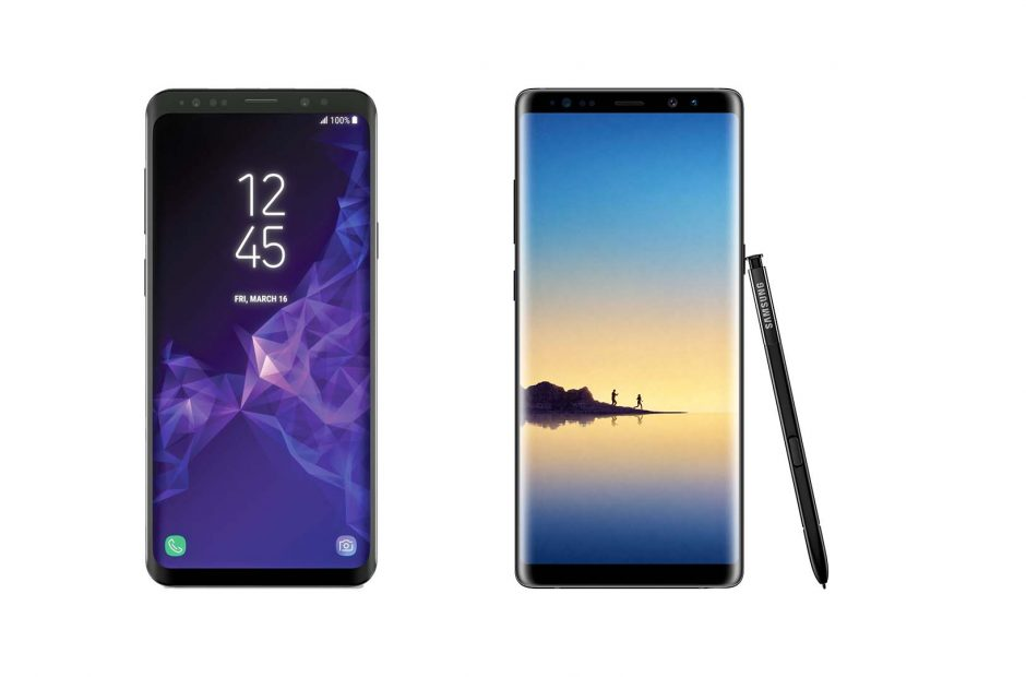 galaxy s9 plus glaxy note 8 merged photo Samsung Tipped To Merge Galaxy S & Note Line