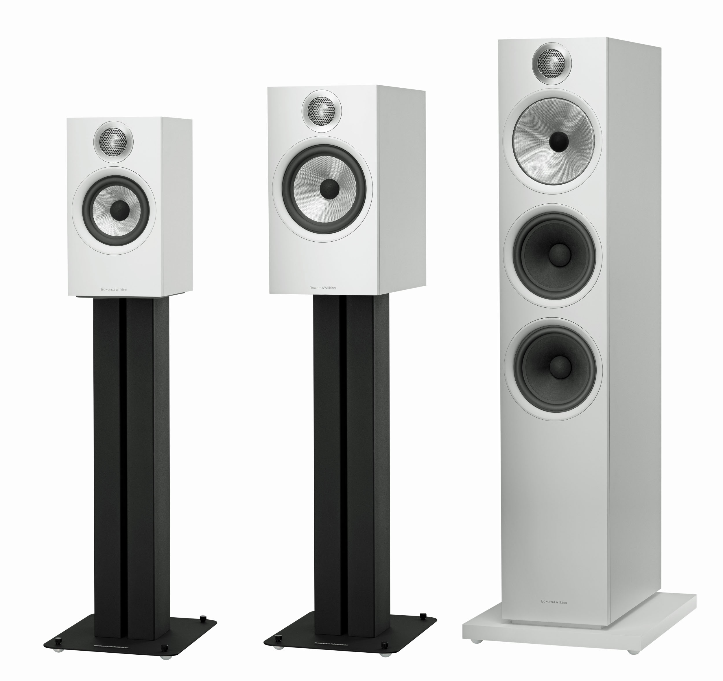 600 series angle white New Bowers and Wilkins 600 series loudspeakers set to ignite Sound Market
