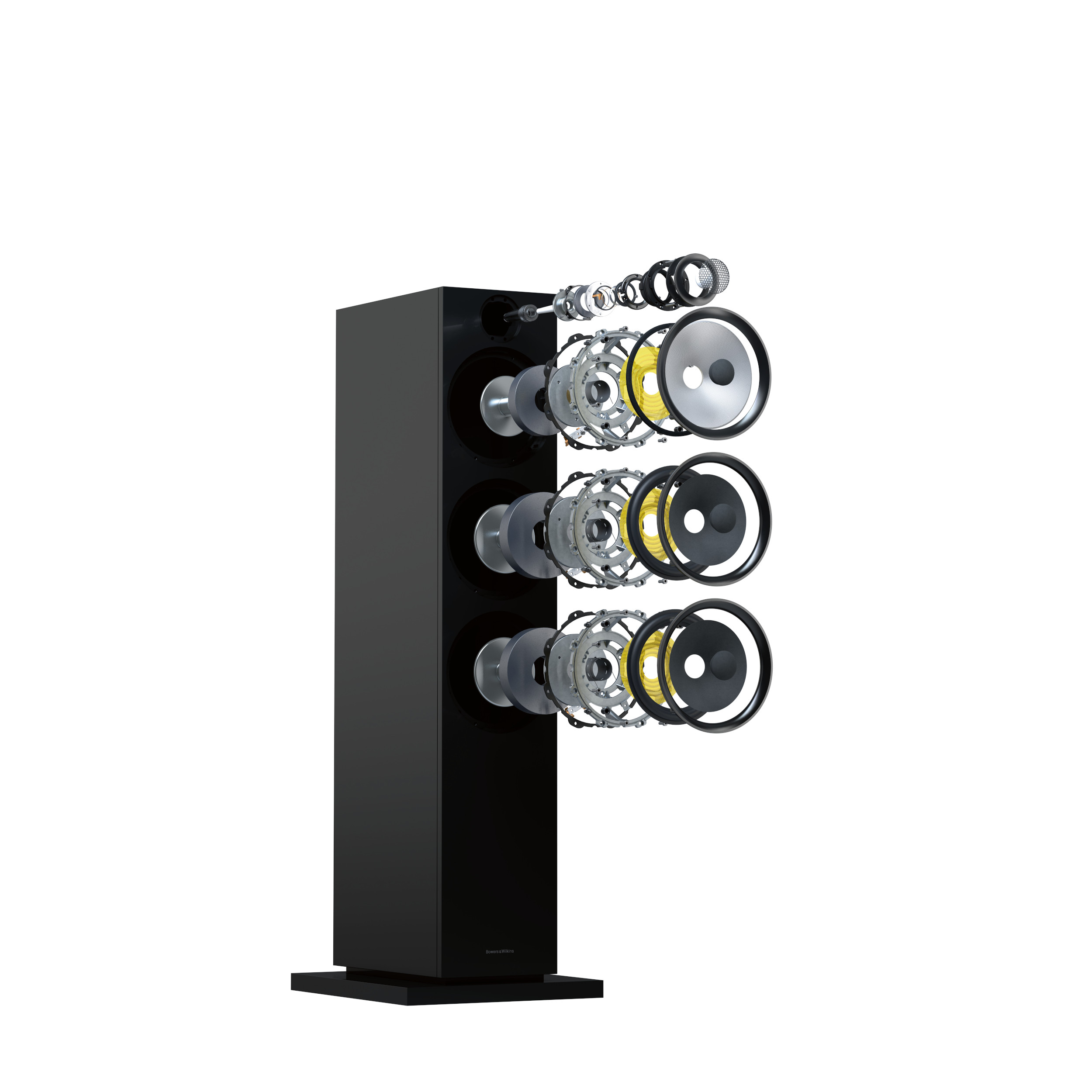 High 603 Exploded Render New Bowers and Wilkins 600 Series speakers set to ignite Sound Market