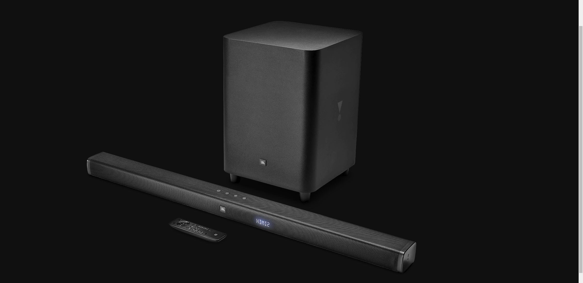 REVIEW: JBL 3 1 Soundbar, Small But Where Do They Get All