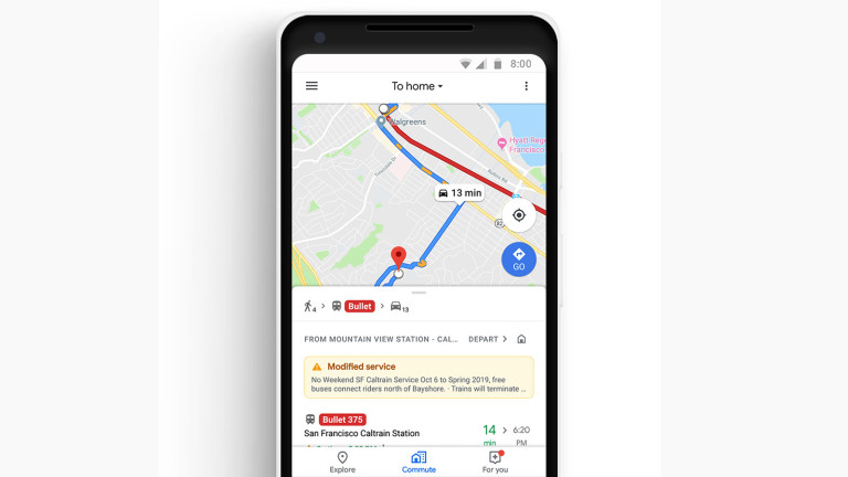 google New Commuter Focused Google Maps Update