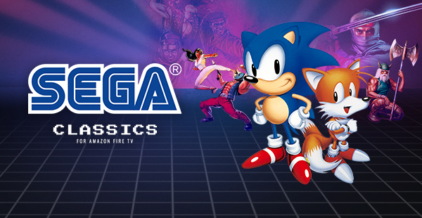 SEGA Classics Graphic SEGA Classics Now On Amazon Fire TV