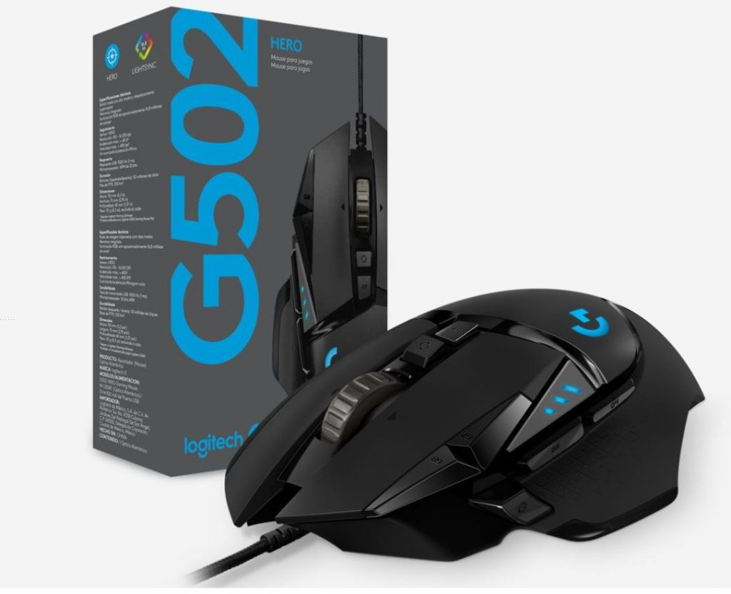 hero 1024x832 REVIEW: Level Up Gaming with Logitech G502 HERO Mouse