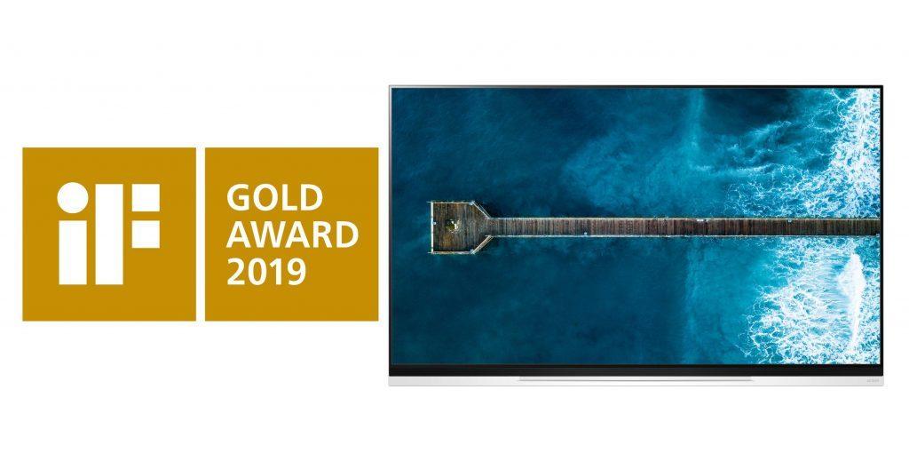 LG OLED TVE9 2 1024x519 LG OLED E9 TV Wins iF Design Gold Award
