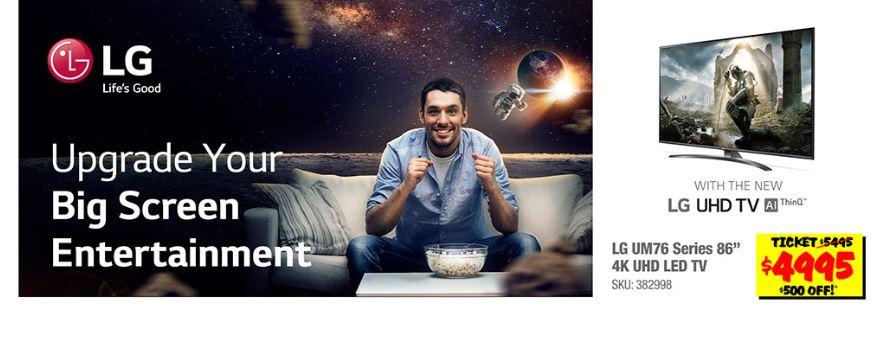 Capture JB Hi Fi Discounts LG TVs, Refrigerators & $499 V30 Smartphone